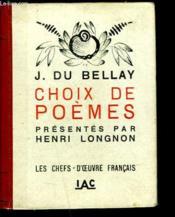Choix De Poemes Presentes Par Henri Longnon - Couverture - Format classique