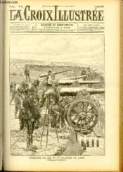 LA CROIX ILLUSTREE N° 84 - Troisième année - Exercices de tir de l'artillerie de siege (dessin d'Arnoult-Moreau) - Couverture - Format classique