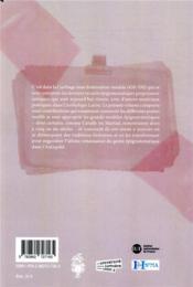Post veteres ; les épigrammes de l'anthologie entre tradition et innovation - 4ème de couverture - Format classique