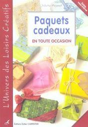 Paquets cadeaux en toutes occasions - Intérieur - Format classique