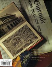 Voyages En Italie - 4ème de couverture - Format classique