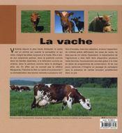 Le vache - 4ème de couverture - Format classique