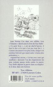 La-Bas Avec Ceux Qui Souffrent ; Carnets D'Un Poilu Rouennais A Verdun - 4ème de couverture - Format classique