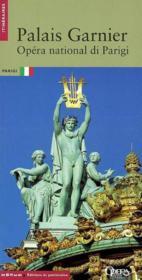 Le palais garnier, (version italienne) - Couverture - Format classique