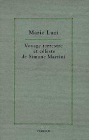 Voyage Terrestre Et Celeste De Simone Martini - Couverture - Format classique