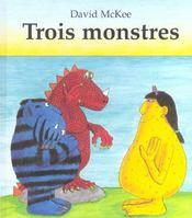 Trois Monstres - Intérieur - Format classique