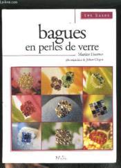 Bagues En Perles De Verre - Couverture - Format classique