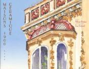 Maisons 1900 avec céramique - Couverture - Format classique