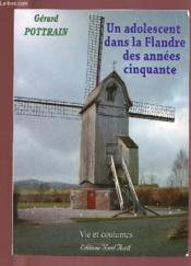 Un adolescent dans la Flandre des années cinquante - Couverture - Format classique