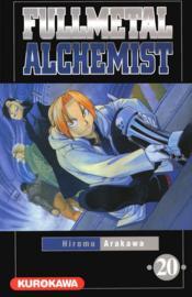 Fullmetal alchemist T.20 - Couverture - Format classique