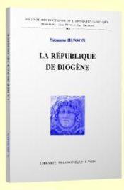 La république de Diogène - Couverture - Format classique
