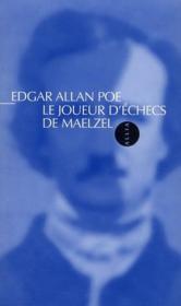 Le joueur d'échecs de Maelzel - Couverture - Format classique