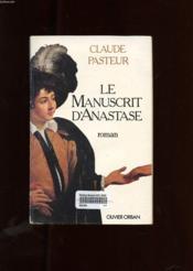 Le Manuscrit D'Anastase - Couverture - Format classique