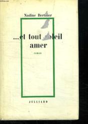 Et Tout Soleil Amer. - Couverture - Format classique