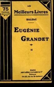 Eugenie Grandet.Tome 2. Collection : Les Meilleurs Livres N° 6. - Couverture - Format classique