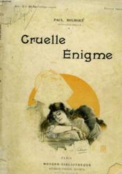 Cruelle Enigme. Profils Perdus. Collection Modern Bibliotheque. - Couverture - Format classique