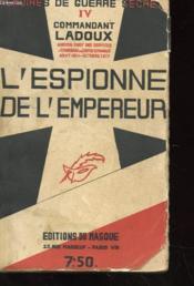 L'Espionne De L'Empereur - Couverture - Format classique