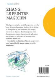 Zhang, le peintre magicien - 4ème de couverture - Format classique