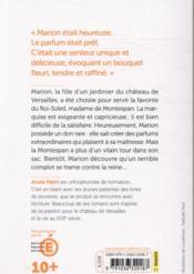 Les orangers de Versailles - 4ème de couverture - Format classique