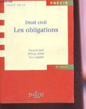 Droit Civil ; Les Obligations ; 8e Edition - Couverture - Format classique