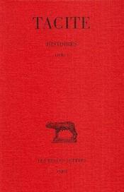 Histoires t.1 ; L1 - Couverture - Format classique