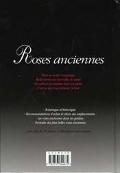 Roses Anciennes. Guide Pratique - 4ème de couverture - Format classique