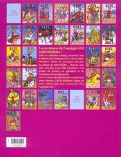 Lili t.26 ; lili et le grand Ted - 4ème de couverture - Format classique