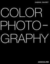 Color photography - Couverture - Format classique
