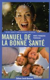 Manuel de la bonne santé - Intérieur - Format classique