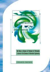 Revue I3 N.2 - Intérieur - Format classique