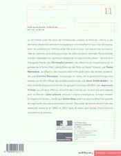 Les Cahiers De La Recherche Architecturale Et Urbaine N.11 ; Sur Quelques Théories Du Xxe Siècle - 4ème de couverture - Format classique