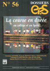 Dossier eps t.56 ; la course en duree - Intérieur - Format classique