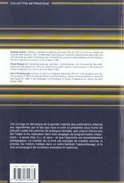 Algorithmes et structures de donnees avec ada, c++ et java - 4ème de couverture - Format classique
