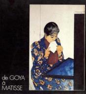De Goya A Matisse 1992 - Couverture - Format classique
