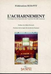 L'Acharnement - Couverture - Format classique