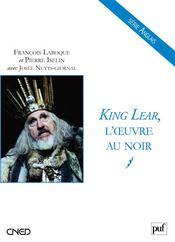 King Lear, l'oeuvre au noir - Couverture - Format classique
