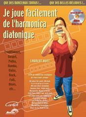 Je joue facilement de l'harmonica diatonique - Couverture - Format classique