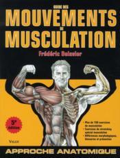 telecharger Guide des mouvements de musculation (5e edition) livre PDF/ePUB en ligne gratuit