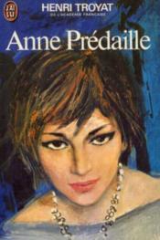 Anne Prédaille - Couverture - Format classique