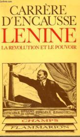 Lenine La Revolution Et Le Pouvoir. Collection Champ N° 72 - Couverture - Format classique