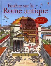 FENETRE SUR ; fenêtre sur la rome antique - Intérieur - Format classique