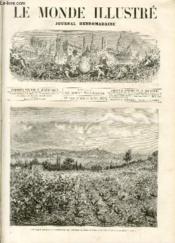 LE MONDE ILLUSTRE N°914 Les vignes atteintes du phylloxéra aux environs de Cette - Couverture - Format classique