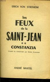 Les Feux De La Saint-Jean - Tome 2 - Constanzia - Couverture - Format classique