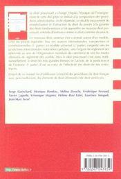 Droit Processuel ; Droit Commun Et Droit Compare Du Proces - 4ème de couverture - Format classique