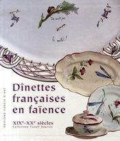 Dînettes françaises en faïence - Intérieur - Format classique
