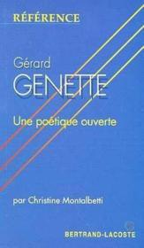 Gerard Genette-Collection Reference - Couverture - Format classique