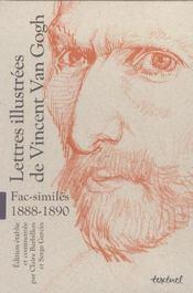 Lettres illustrées de Vincent Van Gogh ; fac-similés 1888-1890 ; coffret - Intérieur - Format classique