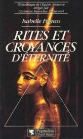 Rites Et Croyances D'Eternite - Couverture - Format classique
