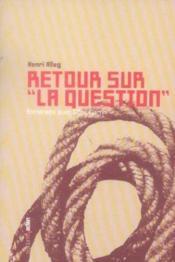 Retour Sur La Question - Couverture - Format classique