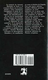 Campos De Castilla - 4ème de couverture - Format classique